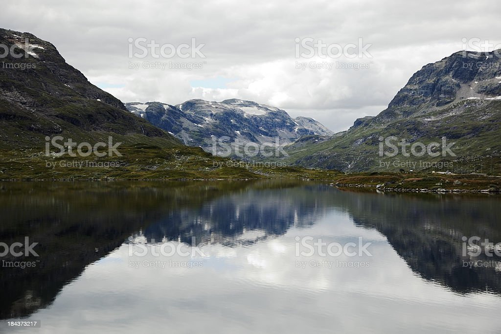Lake in the mountains. royalty-free stock photo