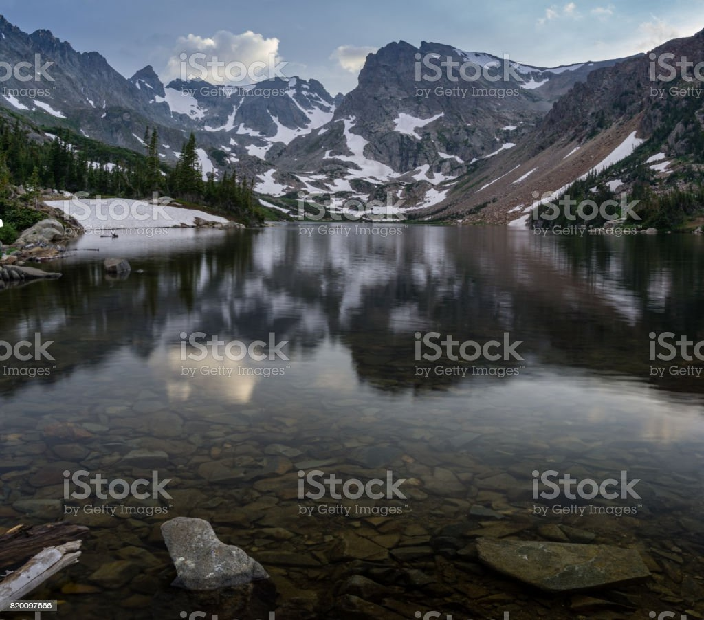 Lake Isabelle - Colorado stock photo