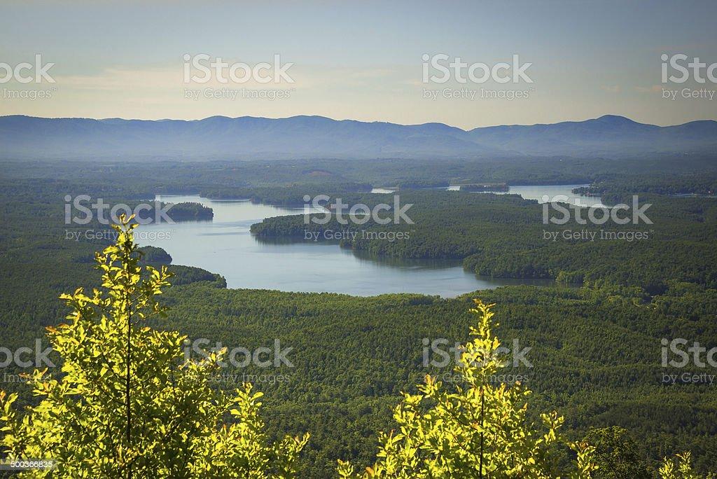 Lake James stock photo