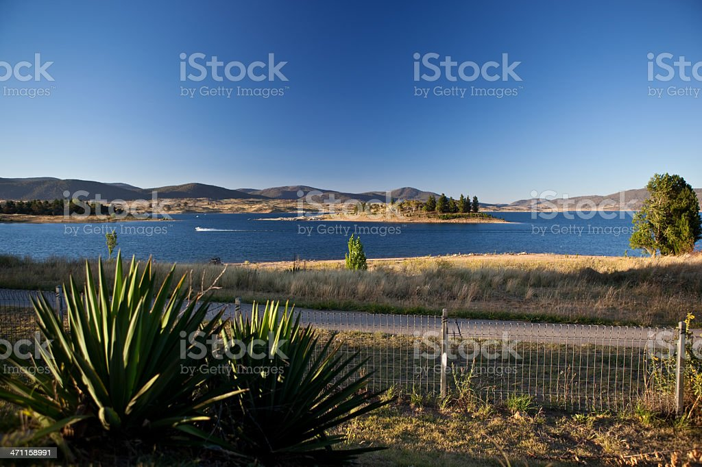 Lake Jindabyne, NSW, Australia stock photo