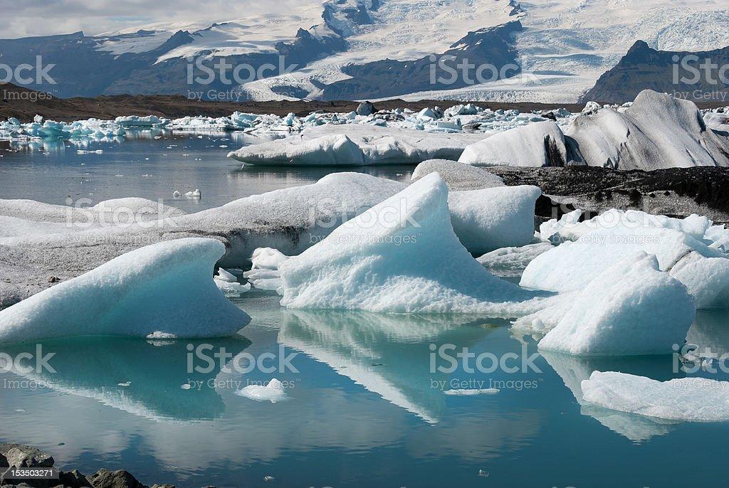 Lake Jokulsarlon stock photo