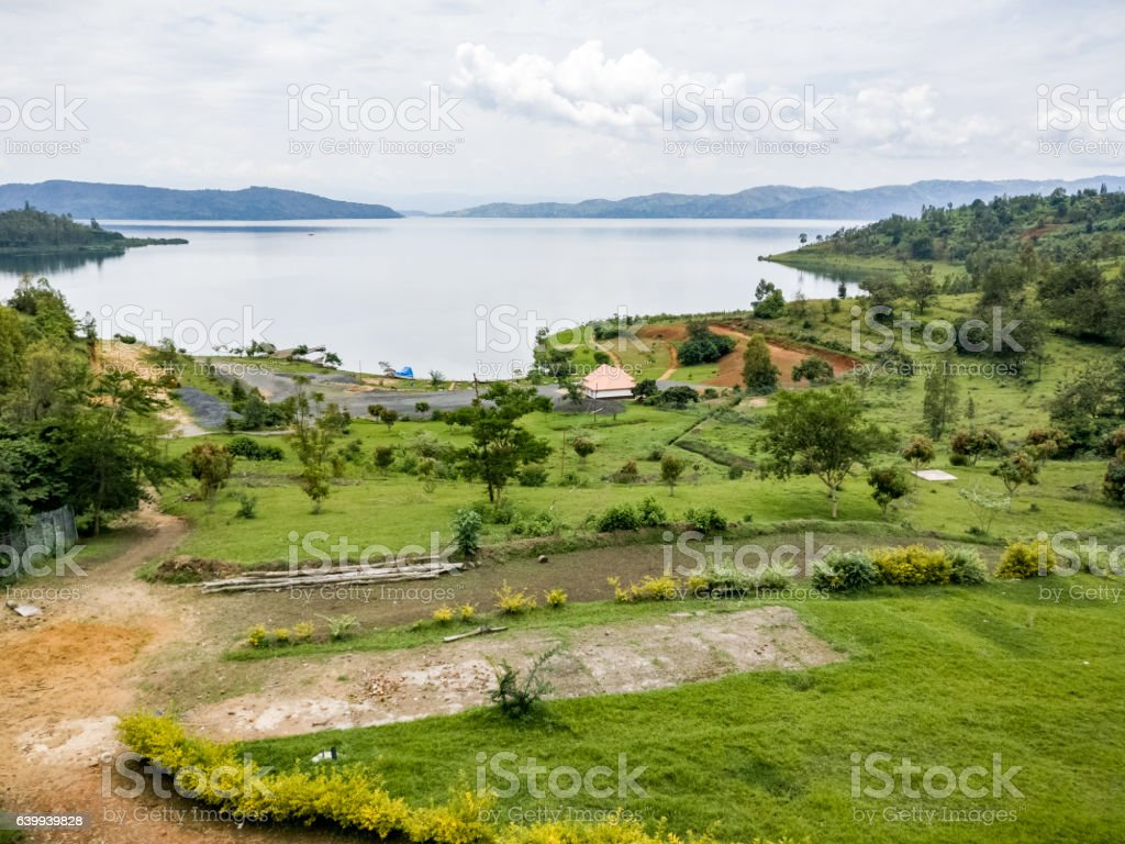 Lake Kivu - Ruanda, africa stock photo