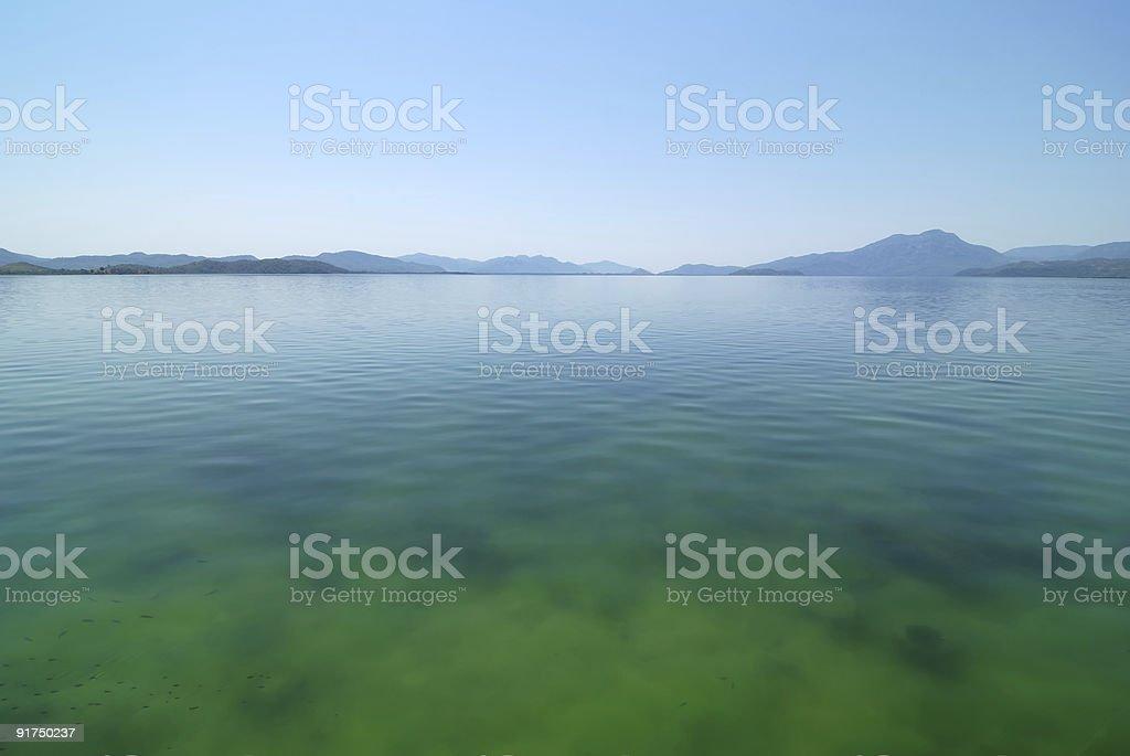 Lake Koycegiz royalty-free stock photo