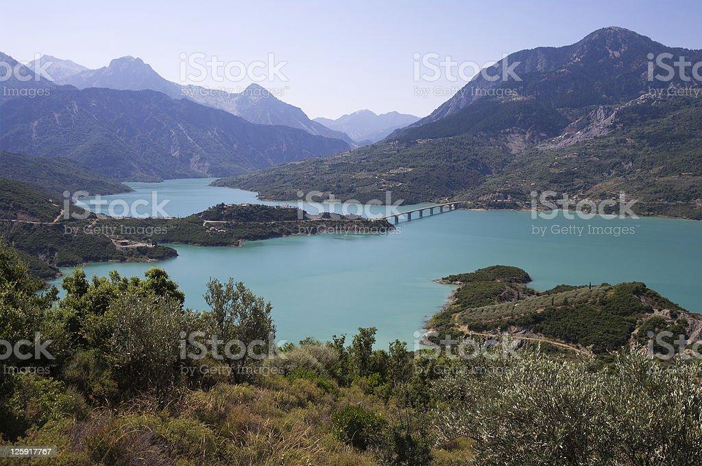 lake kremaston royalty-free stock photo