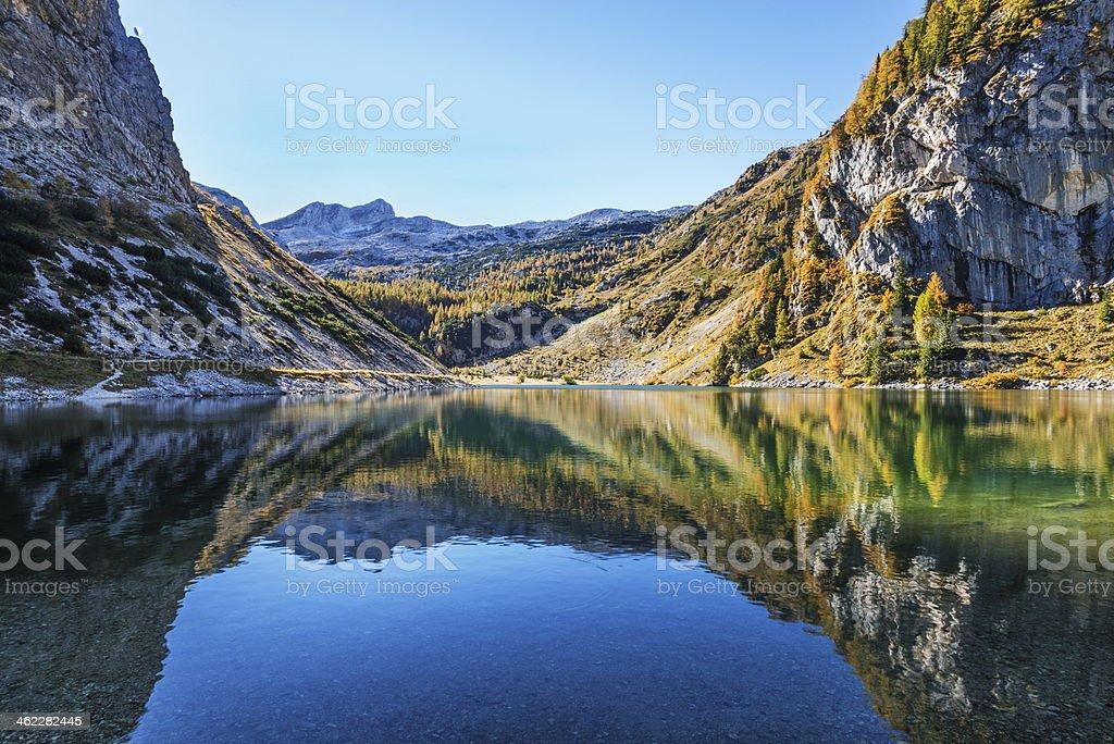 Lake Krn stock photo