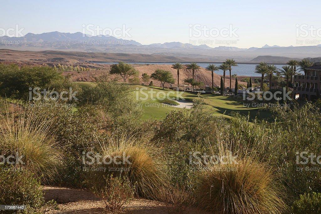 Lake Las Vegas Landscape royalty-free stock photo