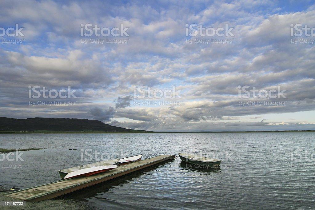 Lake Laugartvatn royalty-free stock photo