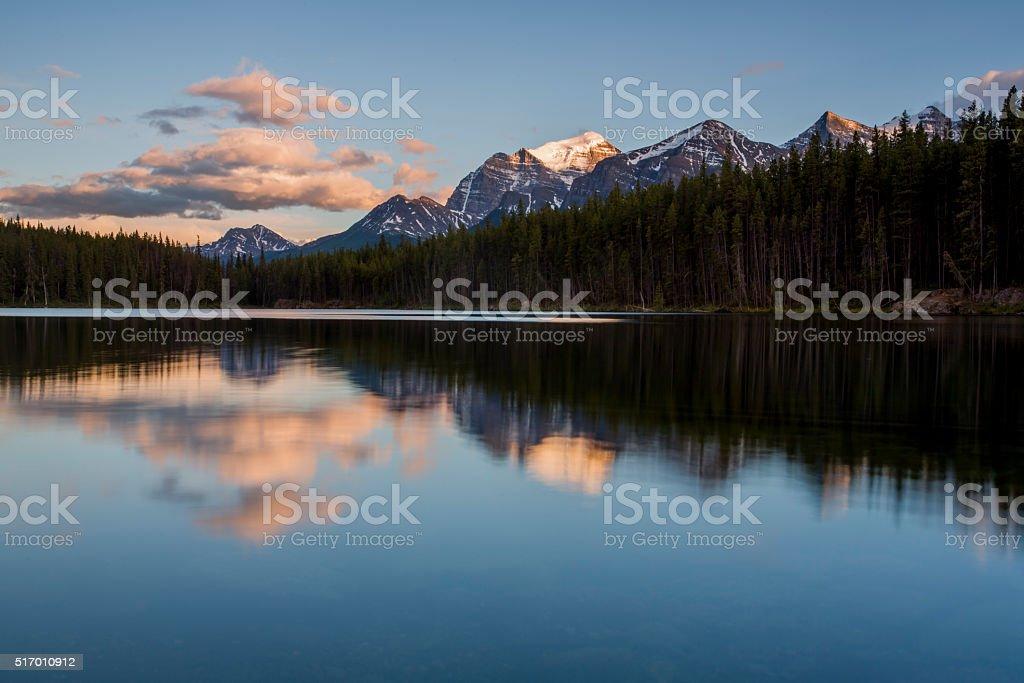 Lake Louise, Alberta stock photo