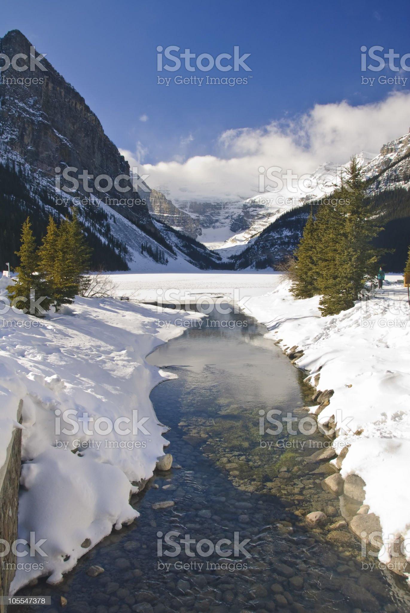 Lake Louise, Canada royalty-free stock photo