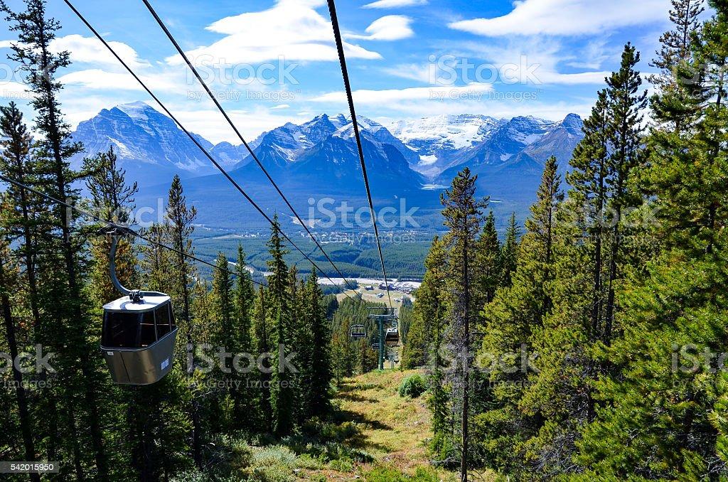 Lake Louise, Canadian Rockies stock photo