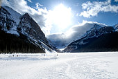 €€Lake Louise in Winter, Banff National Park, Canadian Rockies