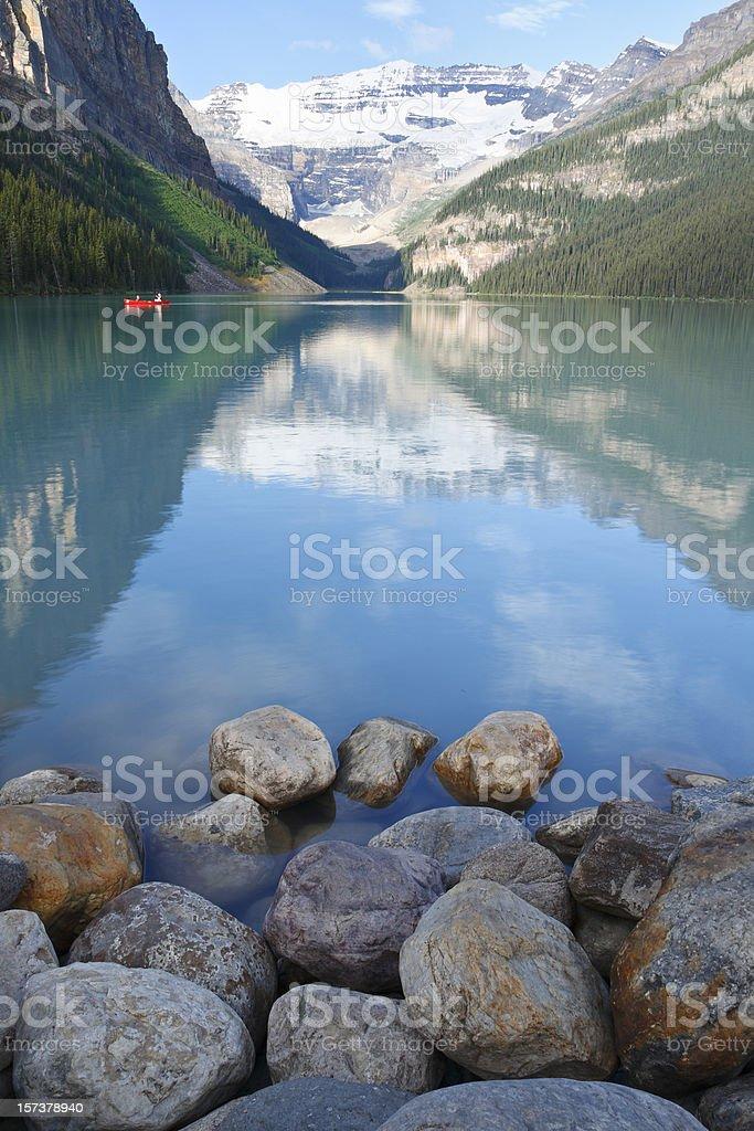 Lake Louise royalty-free stock photo