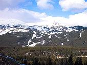 Lake Louise Ski Resort, Canadian Rockies, Alberta, Canada