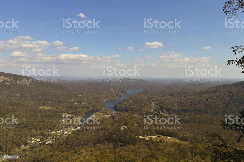 Lake Lure, NC - View royalty-free stock photo