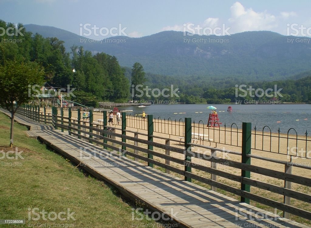 Lake Lure royalty-free stock photo