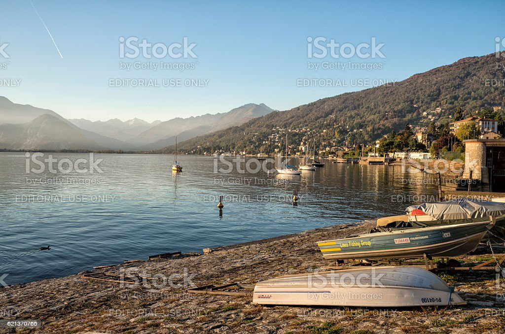 Lake Maggiore, Italy royalty-free stock photo