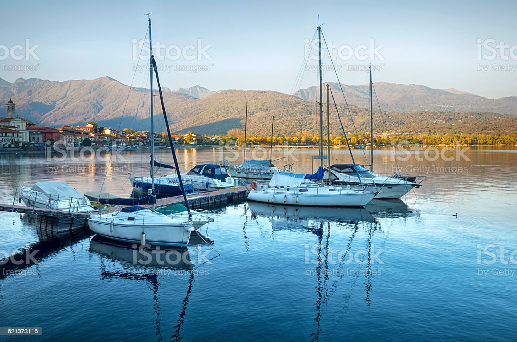 Lake Maggiore, Italy royalty-free stock photo