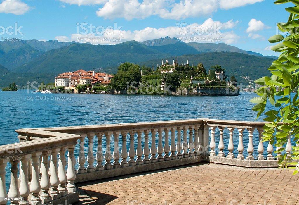 Lake Maggiore, Stresa, Italy stock photo
