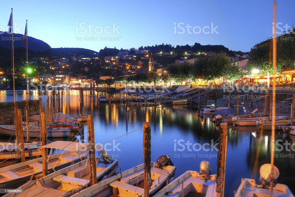 Lake Maggiore, Switzerland stock photo