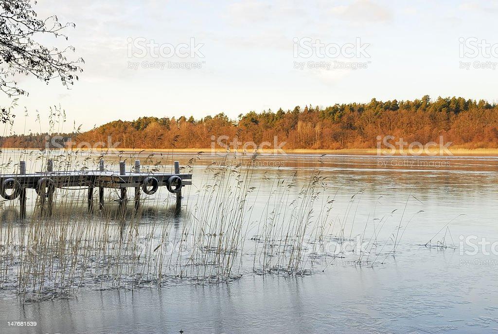 Lake Malaren stock photo