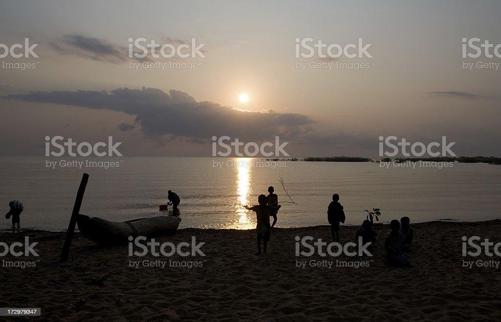 Lake Malawi royalty-free stock photo