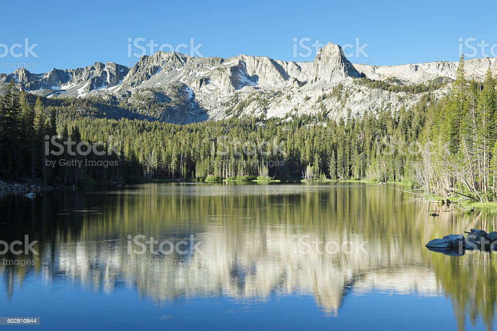 Lake Mamie - Mammoth Lakes stock photo