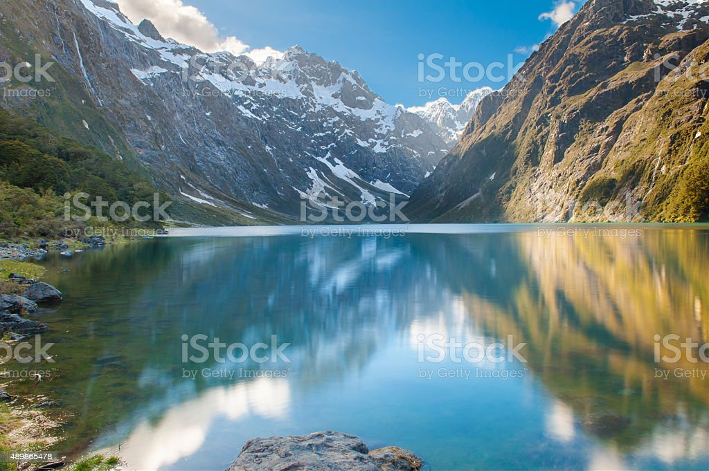 Lake Marian stock photo