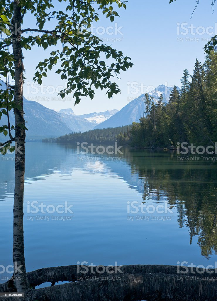 Lake McDonald, Glacier National Park royalty-free stock photo