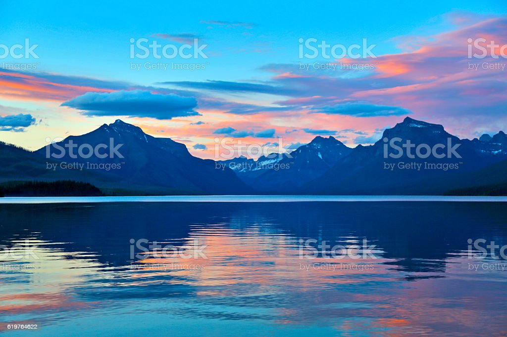 Lake McDonald stock photo