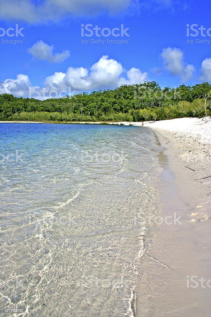 Lake McKenzie, Fraser Island, Australia stock photo