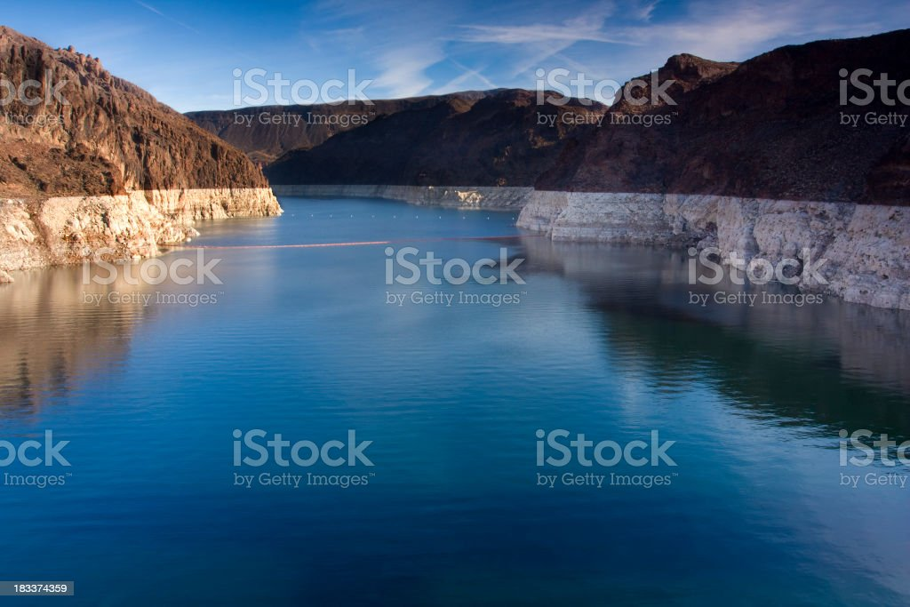 Lake Mead From Hoover Dam stock photo