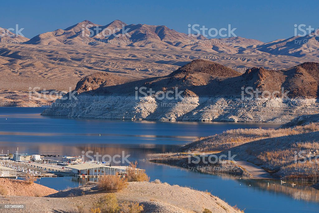 Lake Mead - Low Water stock photo