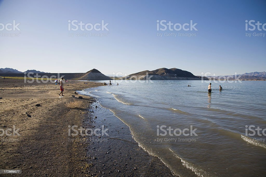 Lake Mead Nevada stock photo