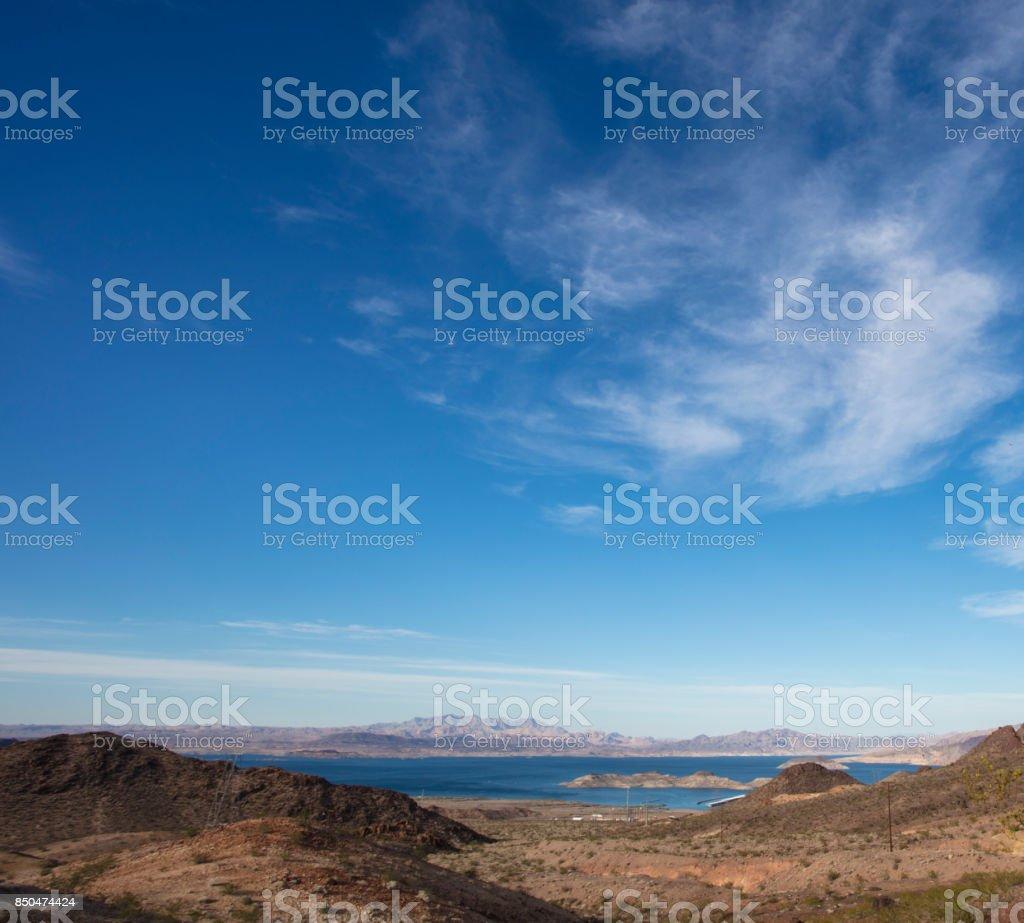 Lake Mead - Nevada stock photo