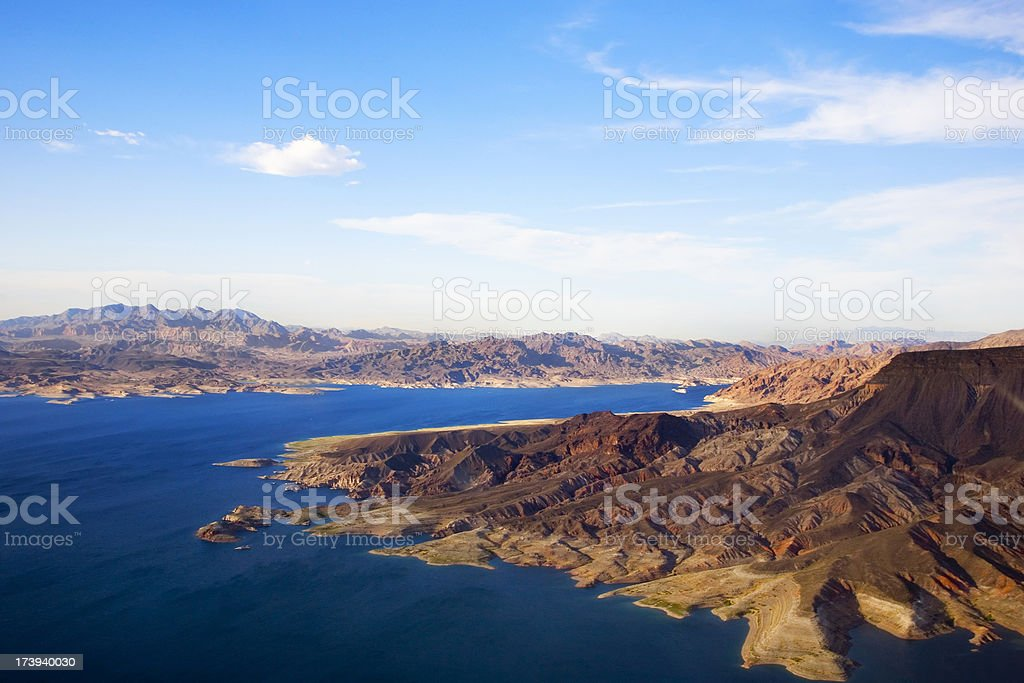 Lake Mead royalty-free stock photo