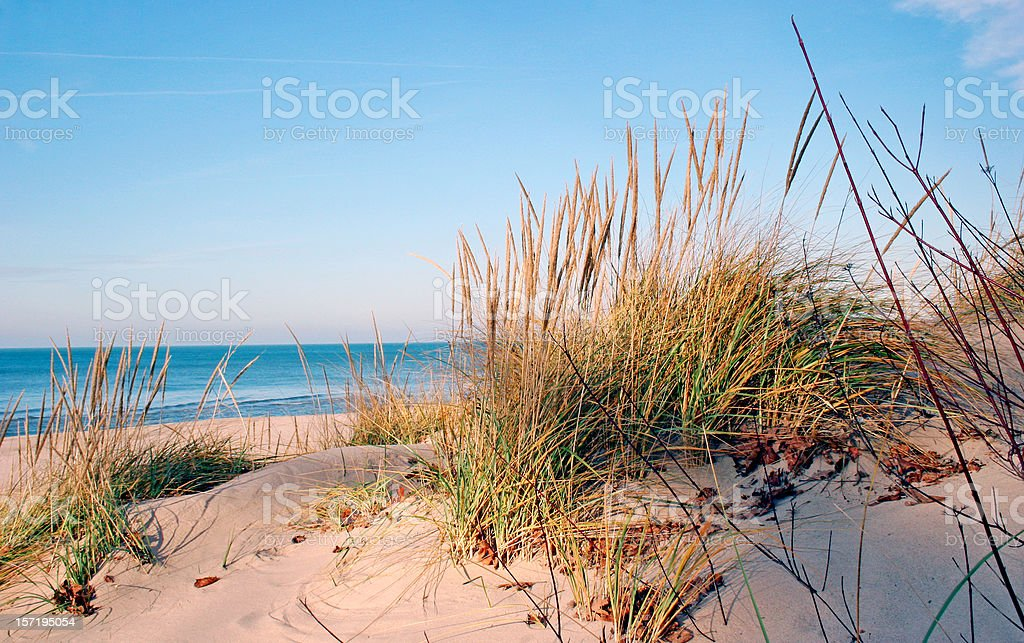 Lake Michigan stock photo