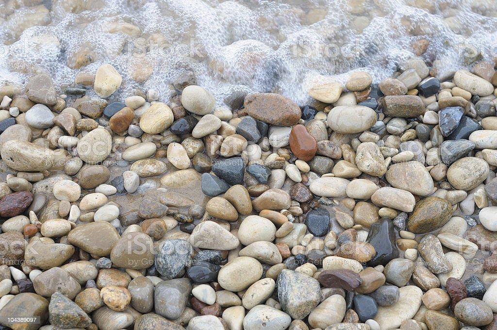 Lake Michigan Shore royalty-free stock photo