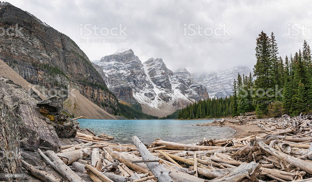 lake moraine royalty-free stock photo