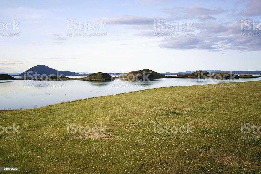 Lake Myvatn royalty-free stock photo