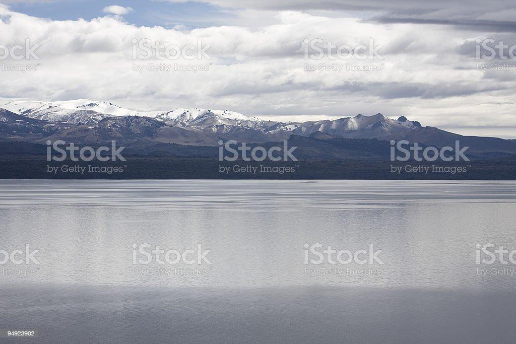 Lake Nahuel Huapi royalty-free stock photo