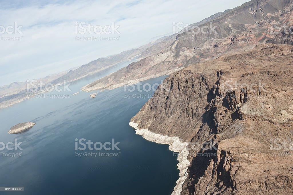 Lake Near Grand Canyon stock photo