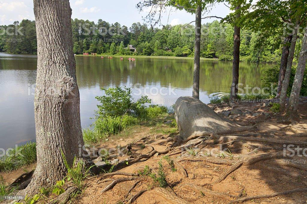 Lake Norman stock photo