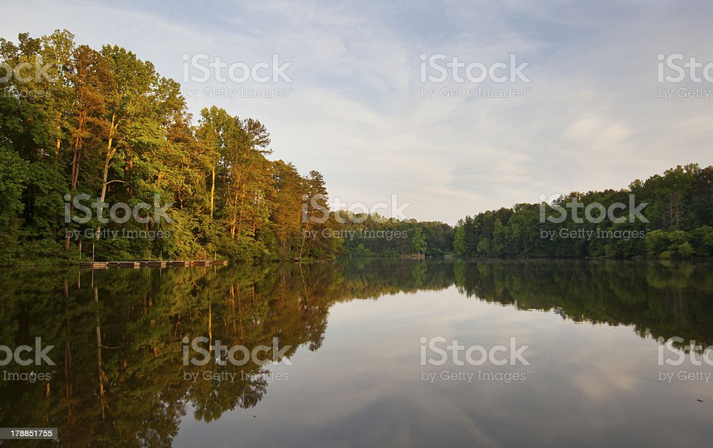 Lake Norman stock photo