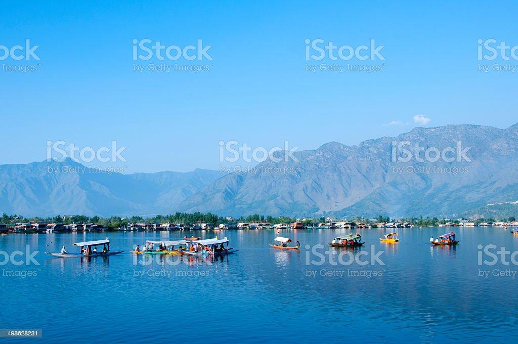 Lake Of  Blue Water stock photo