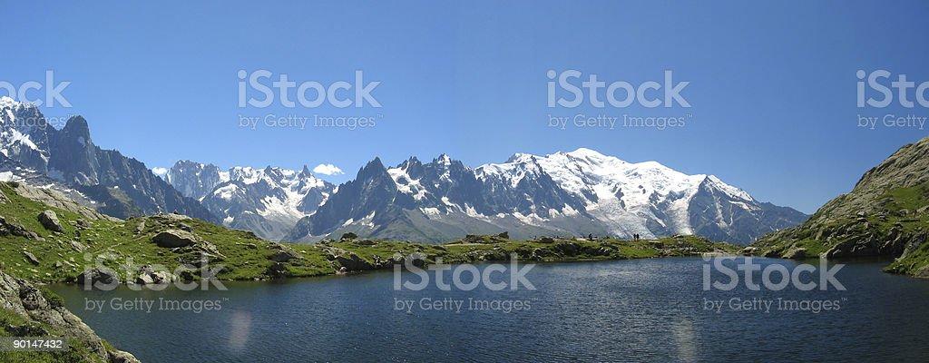 Lake of Cheresys stock photo