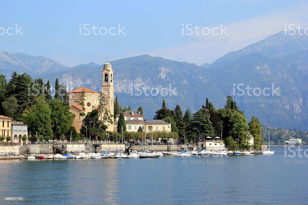 Lake of Como stock photo