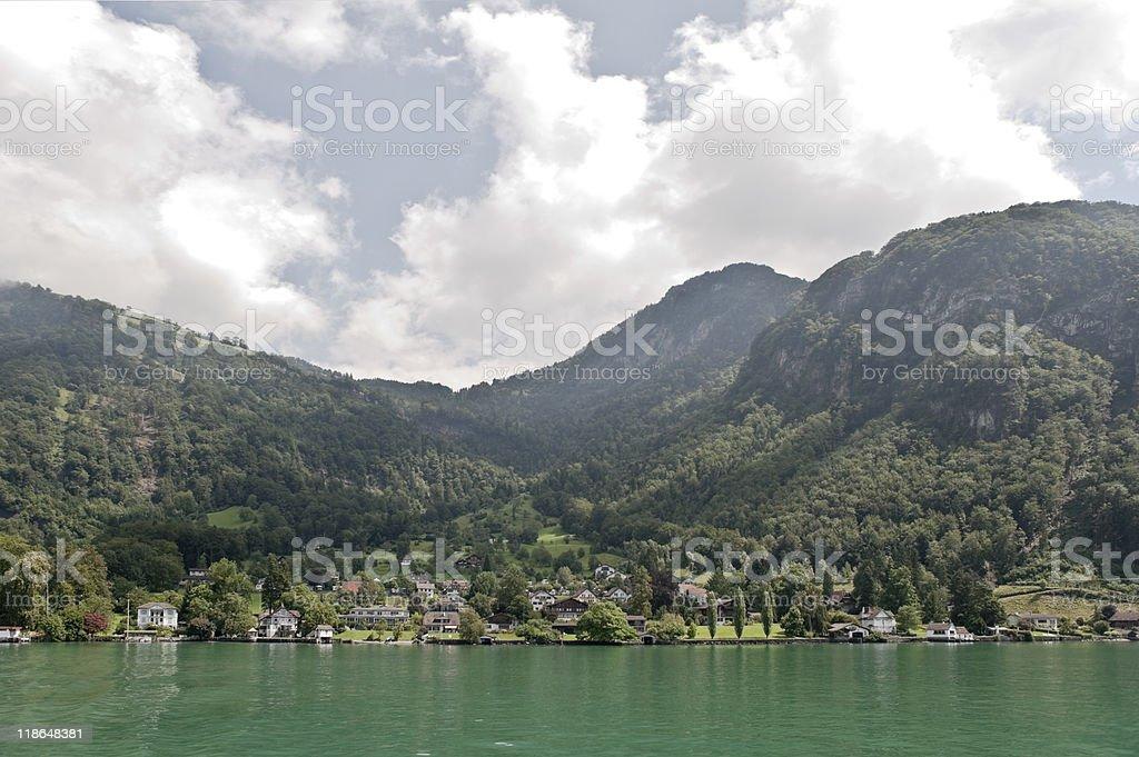 Lake of Lucerne stock photo