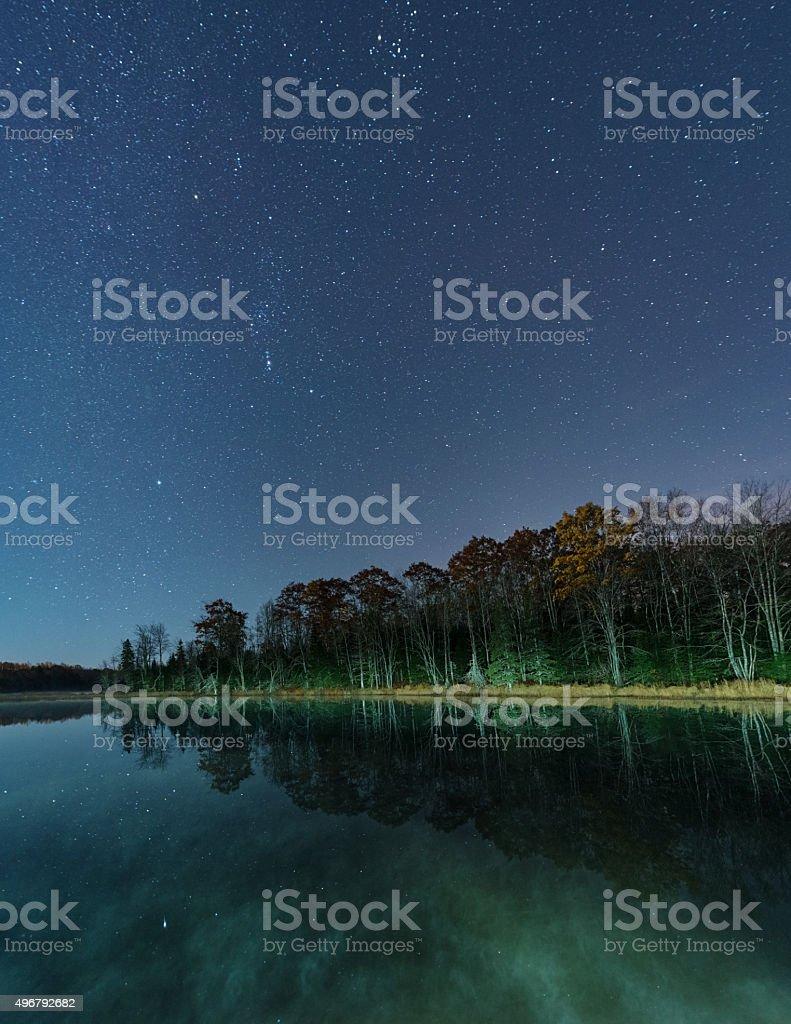 Lake of Orion stock photo