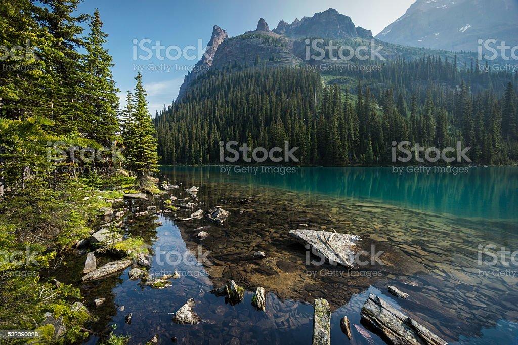 Lake O'Hara stock photo