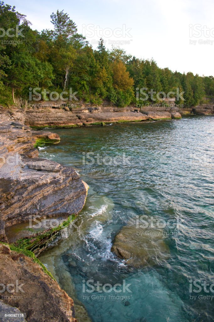 Lake Ontario Coast stock photo